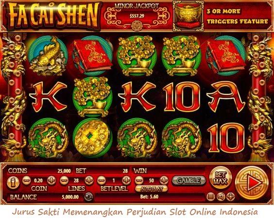 Jurus Ampuh Memenangkan Perjudian Slot Online Indonesia