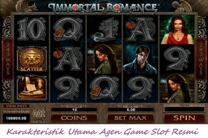 Karakteristik Utama Agen Game Slot Resmi