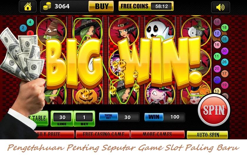 Pengetahuan Penting Seputar Game Slot Paling Baru